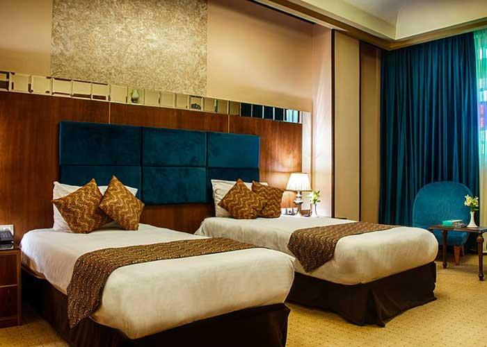 عکس اتاق های هتل کریم خان شیراز