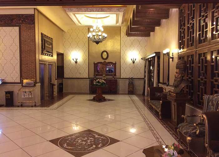 عکس لابی هتل کریم خان شیراز