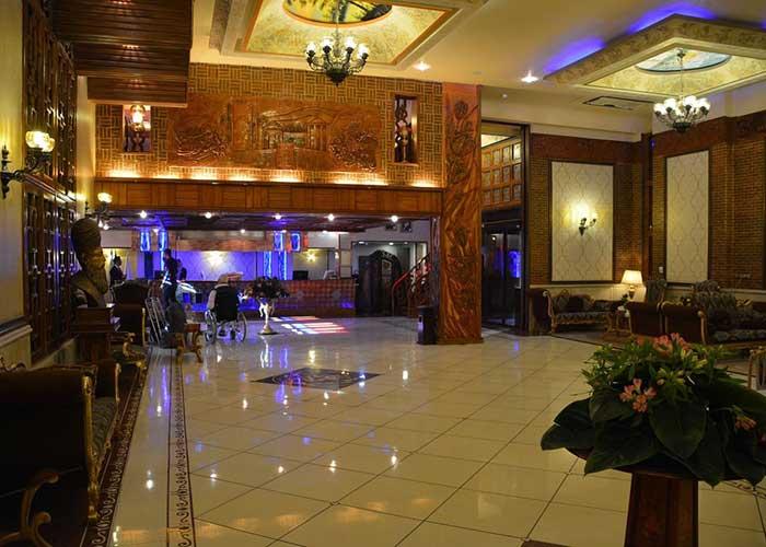لابی هتل کریم خان شیراز