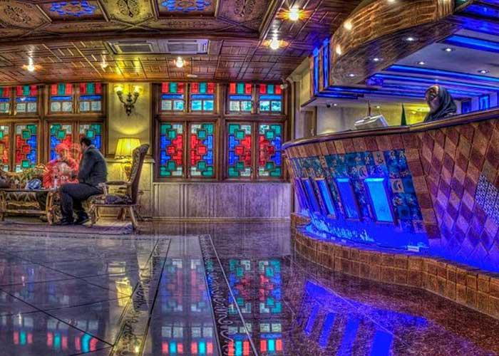 پذیرش هتل کریم خان شیراز