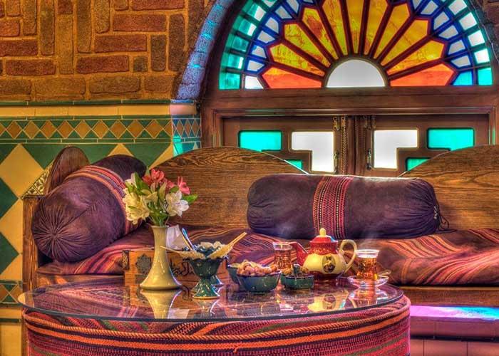 چایخانه سنتی هتل کریم خان شیراز