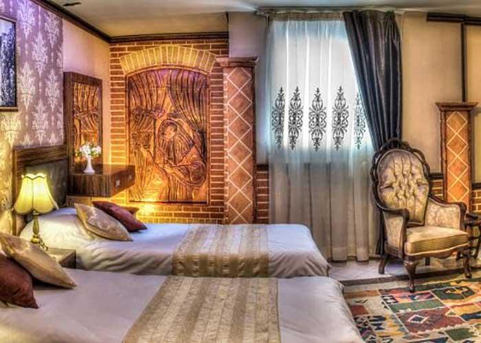 اتاق های هتل کریم خان شیراز