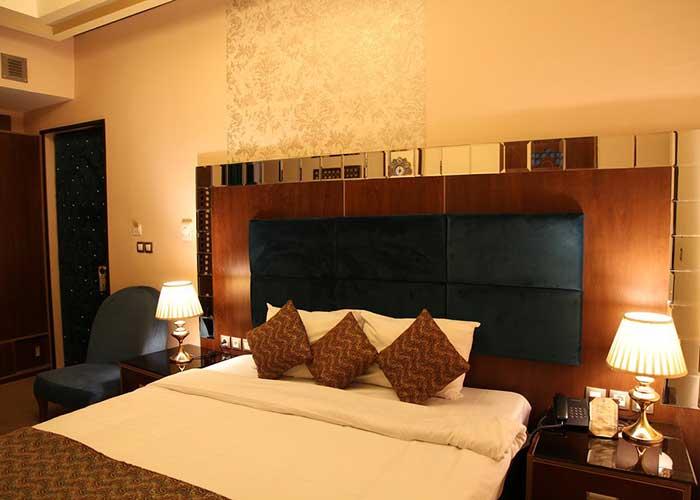اتاق های هتل کریم خان