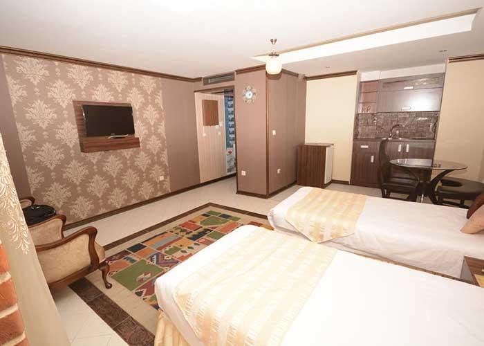 عکس اتاق های هتل کریم خان