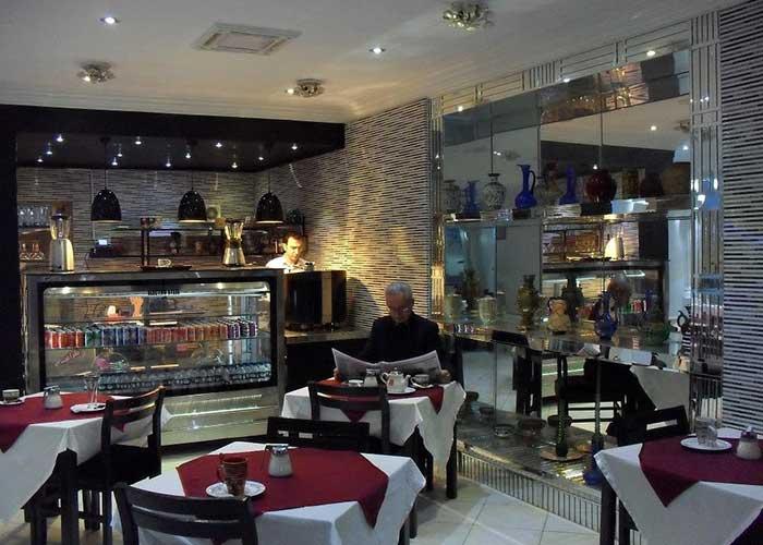 رستوران هتل کارون تهران