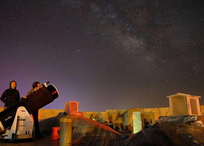 رصد ستارگان ده نمک