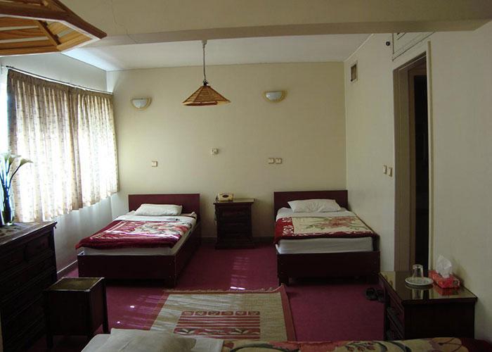 اتاق دو تخته توئین هتل کاوه