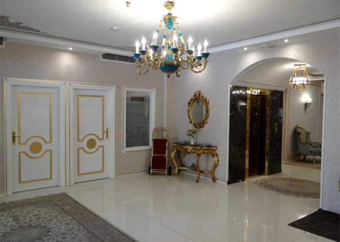 راهرو هتل خواجو اصفهان