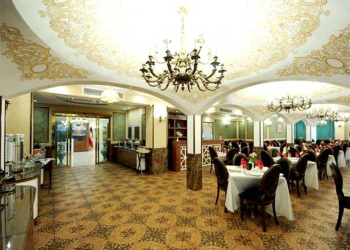 رستوران هتل خواجو اصفهان