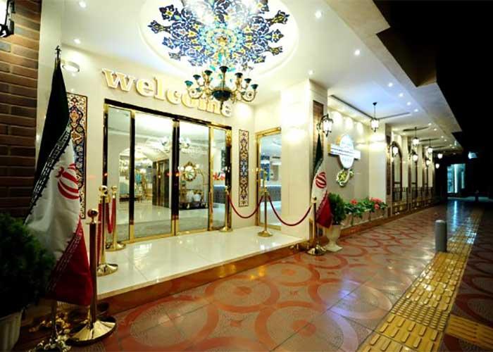 ورودی هتل خواجو اصفهان