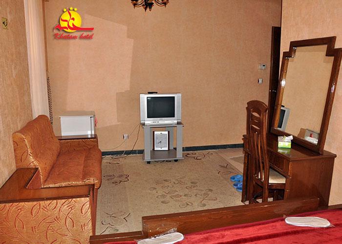 تصاویر اتاق هتل خاتم یزد