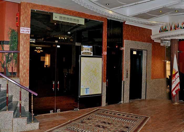 ورودی هتل خاتم یزد