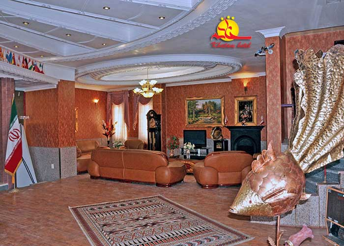 عکس لابی هتل خاتم یزد