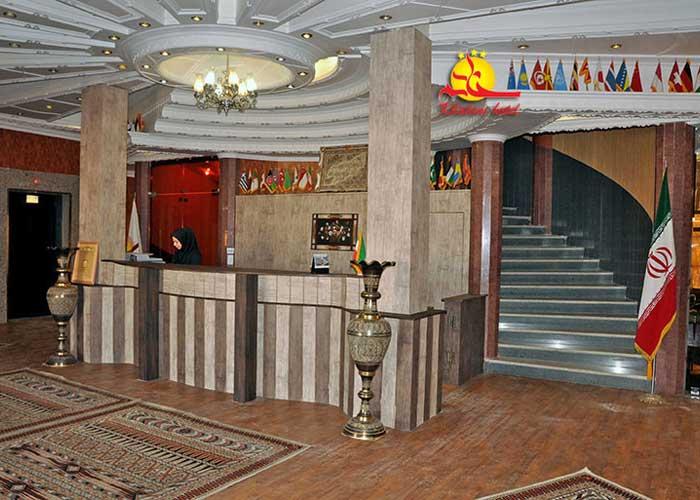عکس پذیرش هتل خاتم یزد