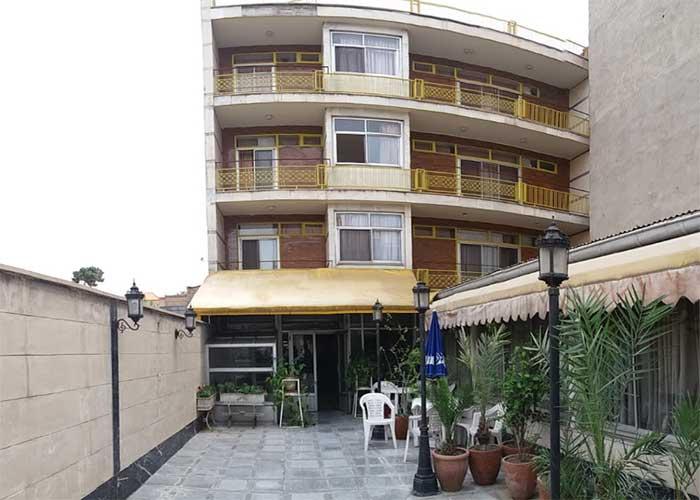 ساختمان هتل خیام تهران