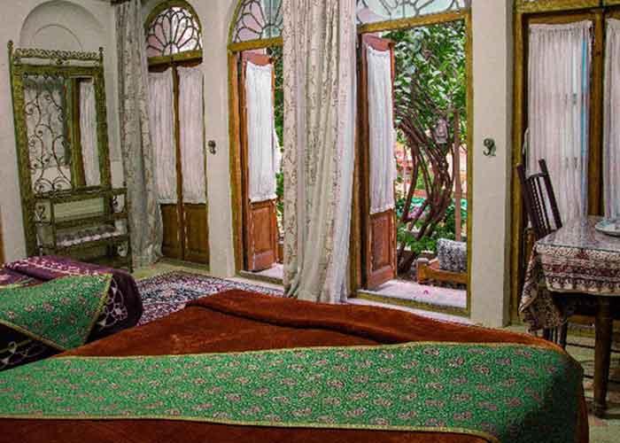 تصاویر اتاق هتل کهن کاشانه یزد