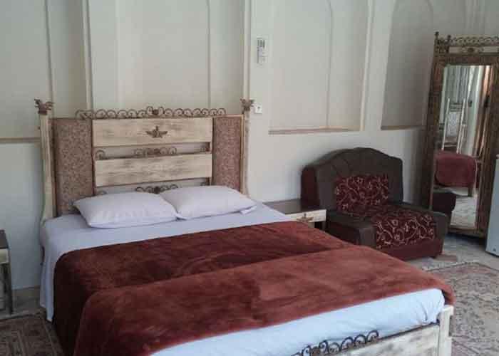 اتاق دبل هتل کهن کاشانه یزد