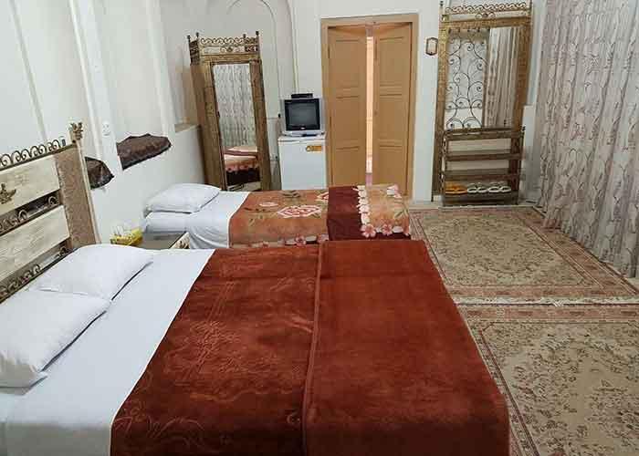 سه تخته هتل کهن کاشانه یزد