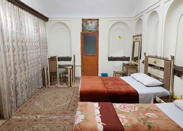 عکس  سه تخته هتل کهن کاشانه یزد