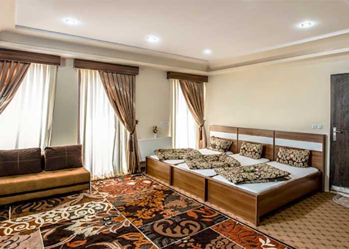 اتاق سه تخته مجتمع اقامتی خورشید اردهال