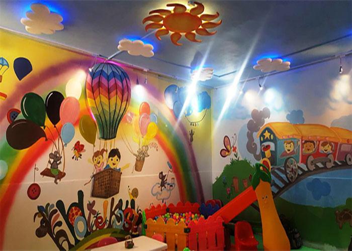 اتاق بازی کودکان هتل کوثر مشهد
