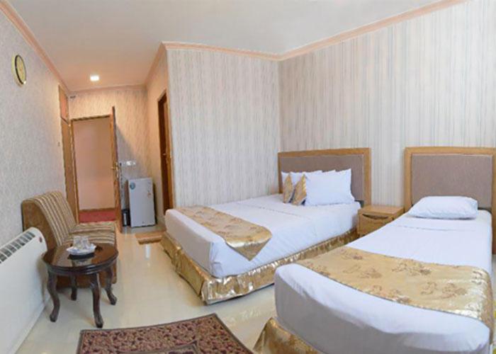 اتاق دو تخته هتل کوثر
