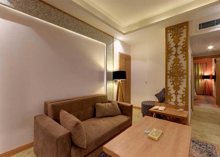 مبلمان اتاق هتل کوثر تهران