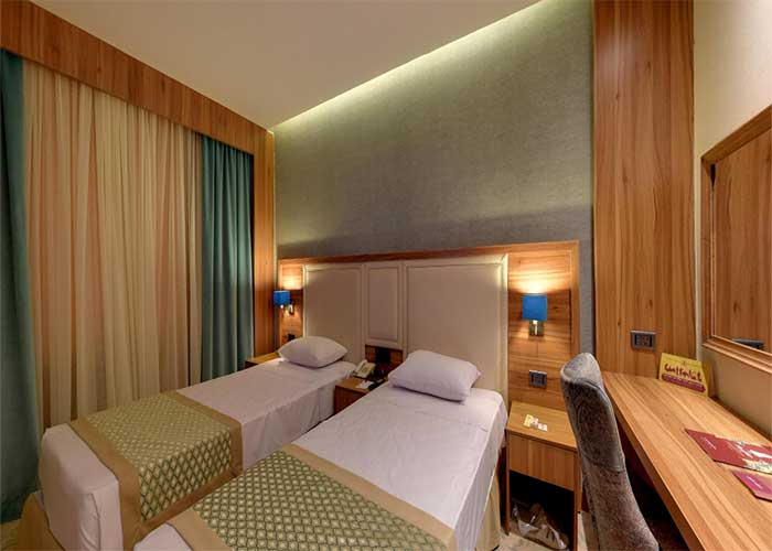 اتاق دو تخته توئین هتل کوثر تهران