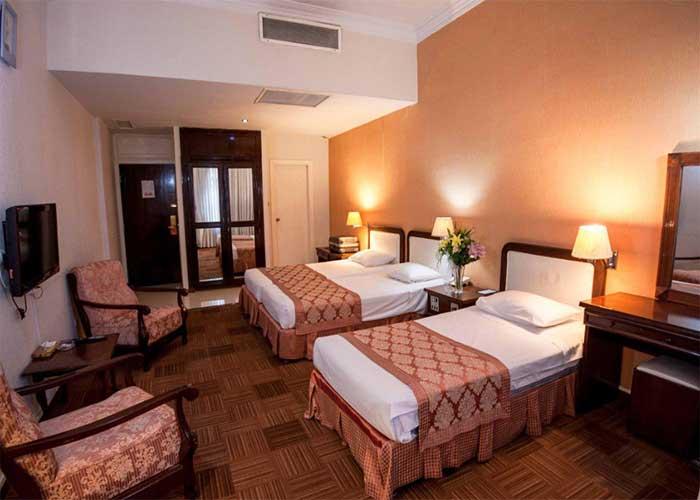 اتاق سه تخته هتل کوثر تهران