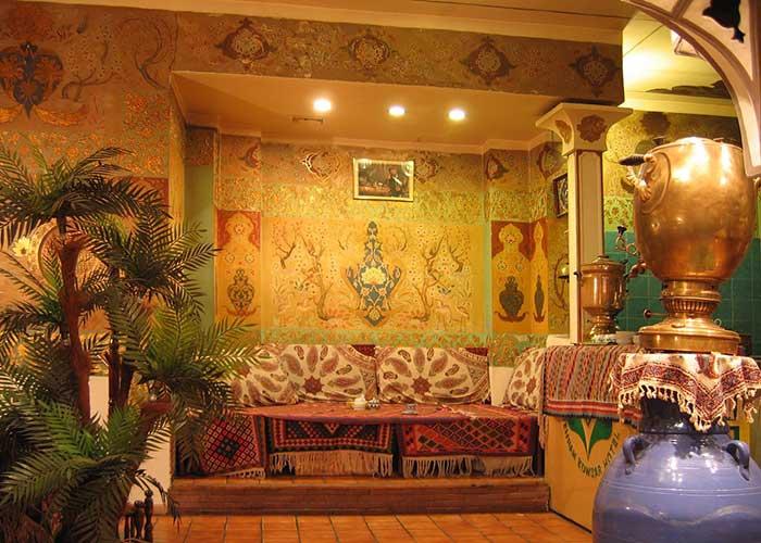 چای خانه هتل کوثر تهران