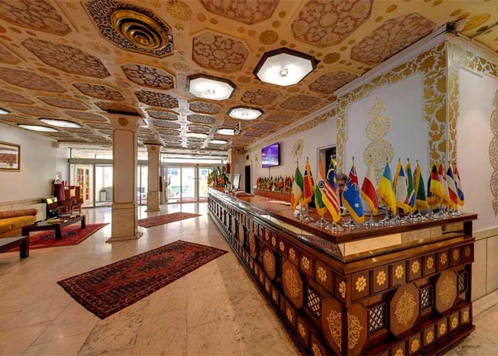 پذیرش هتل کوثر تهران