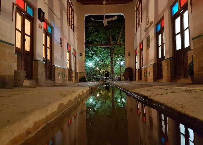 تصاویر اتاق های کوشک آقا محمد قمصر