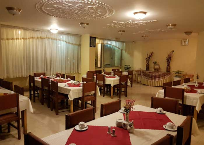 عکس سالن صبحانه هتل کوثر شیراز