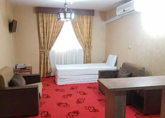 عکس اتاق هتل آپارتمان لبخند مشهد