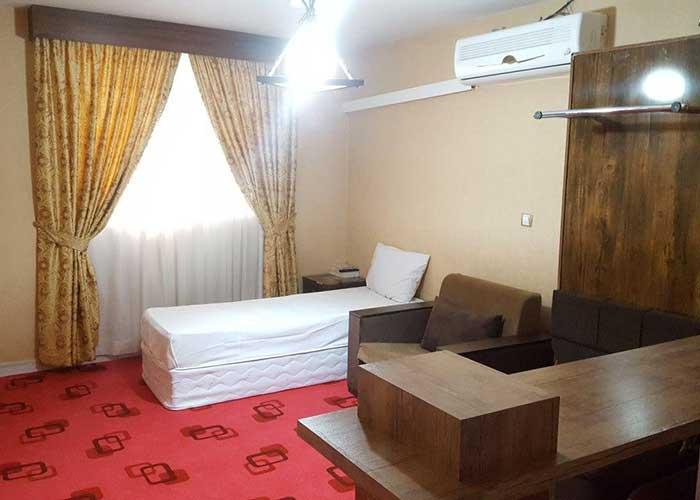 تصاویر اتاق هتل آپارتمان لبخند مشهد