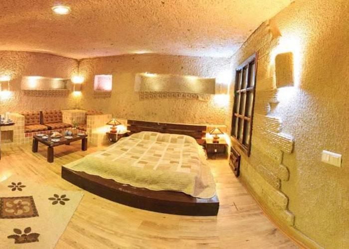 اتاق های هتل لاله کندوان