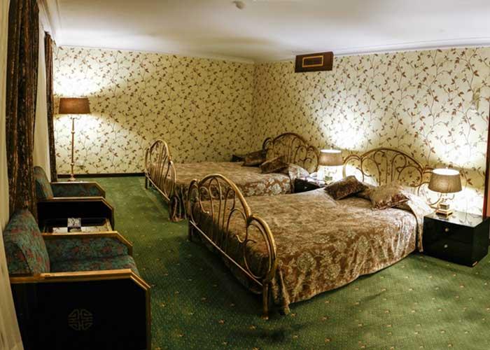 اتاق دو تخته توئین هتل لاله تهران