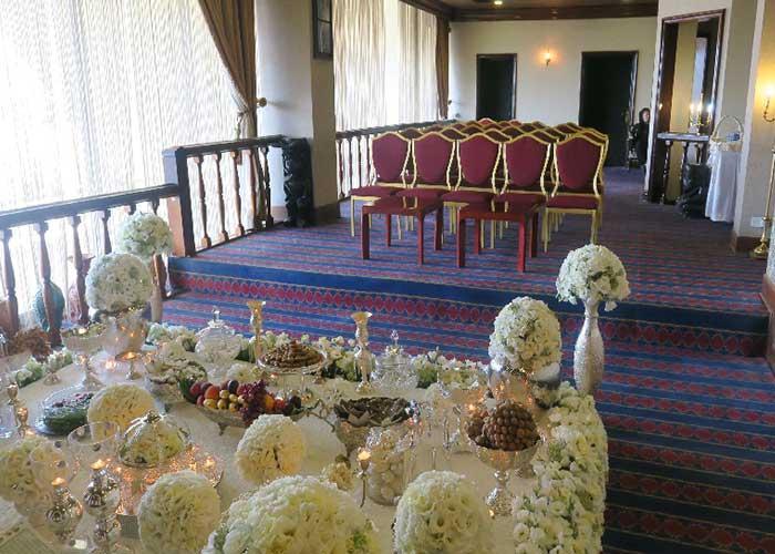 سالن چشم انداز در طبقه 13 هتل لاله تهران
