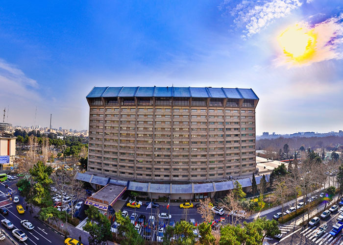 ساختمان هتل لاله تهران
