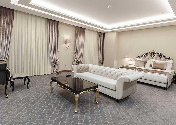 اتاق هتل لاله پارک تبریز