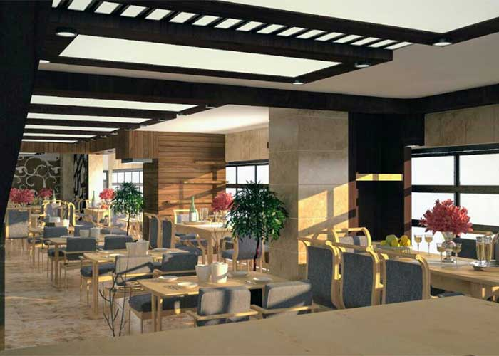 رستوران هتل لیدو رامسر