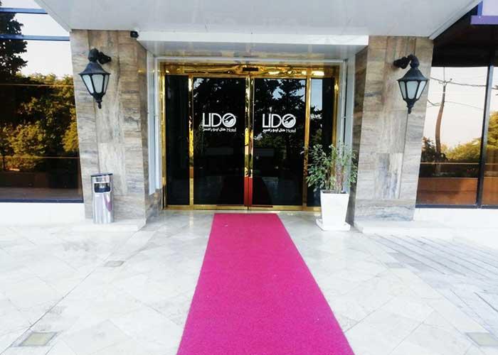 ورودی هتل لیدو رامسر