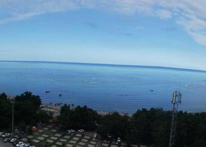 نمای رو به دریا هتل لیدو رامسر