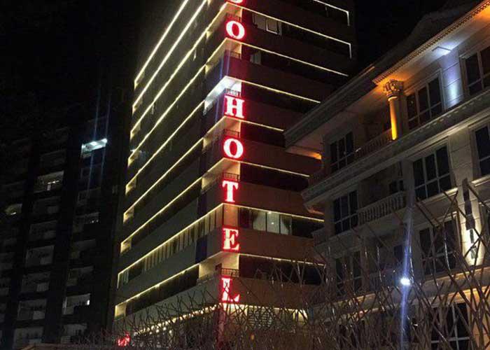 ساختمان هتل لیدو رامسر