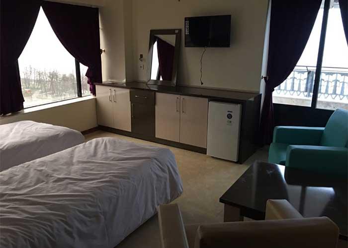 دو تخته توئین هتل لیدو رامسر