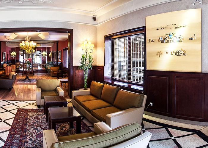 عکس لابی هتل مشهد تهران