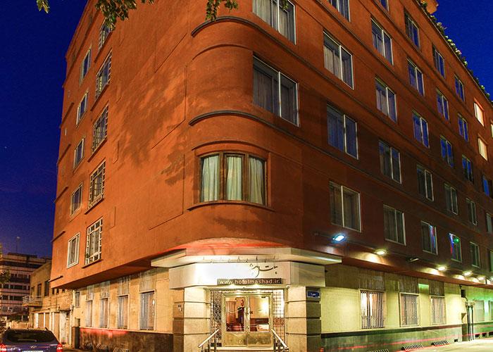 ساختمان هتل مشهد تهران