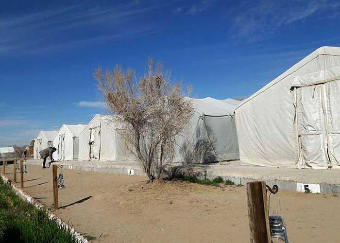 تصاویر چادر های 24 متری کمپ میتن آباد