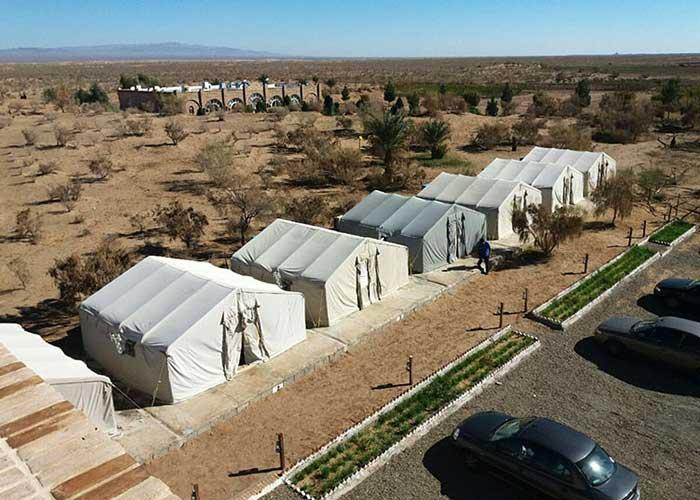 چادر های 24 متری کمپ میتن آباد
