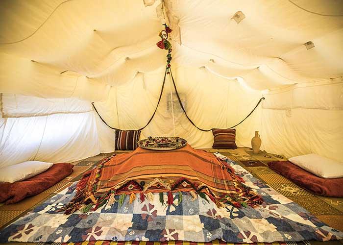 عکس چادر های 24 متری کمپ میتن آباد